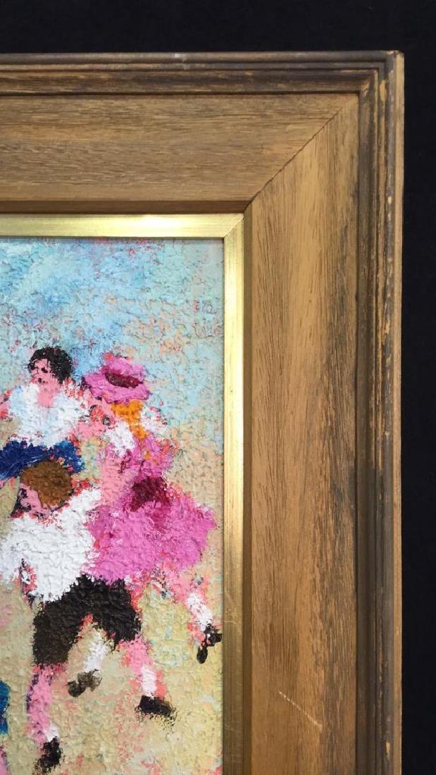Dancing Rabbis Oil Painting - 6