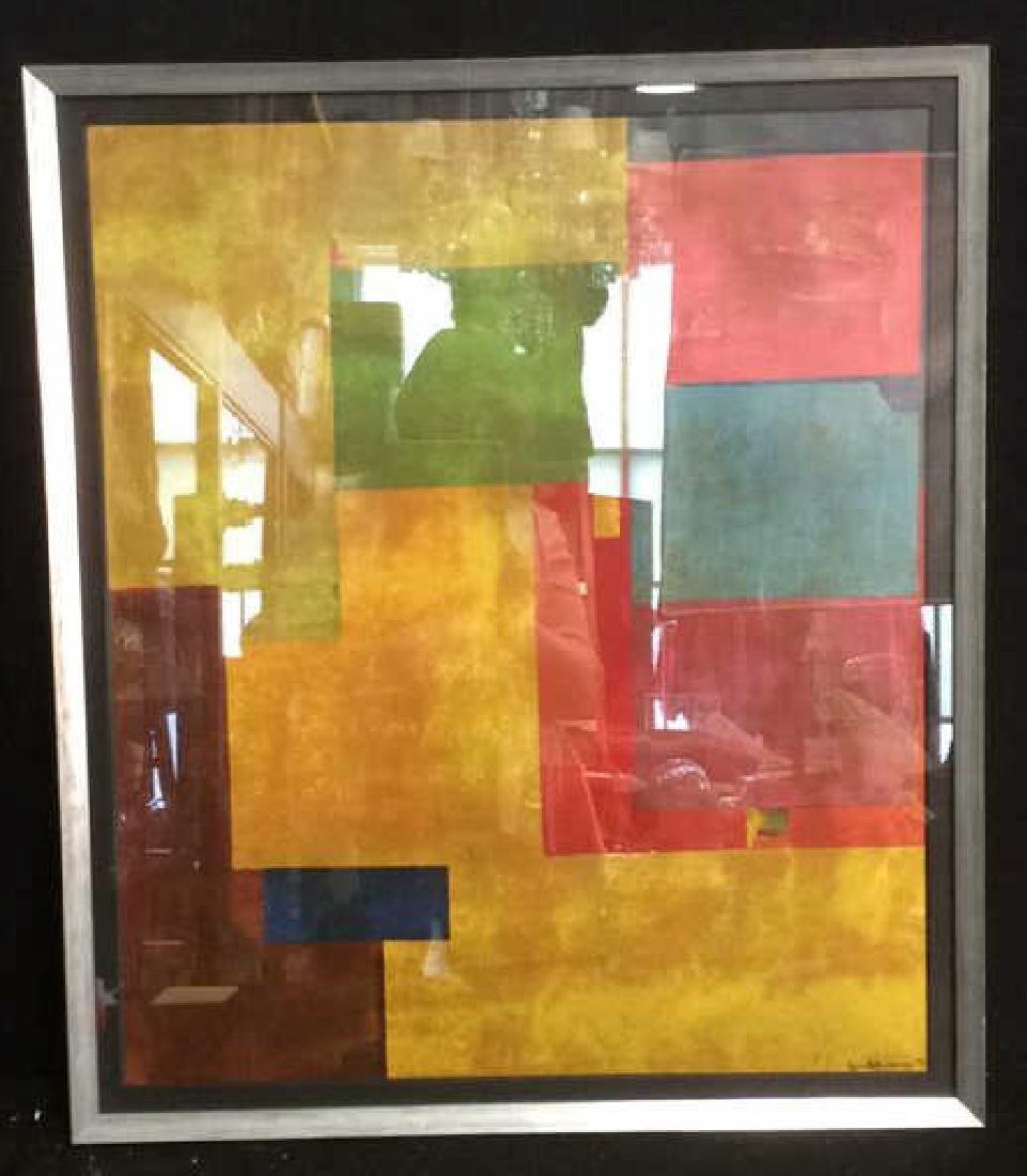 Hans Hofman Framed Geometric Print