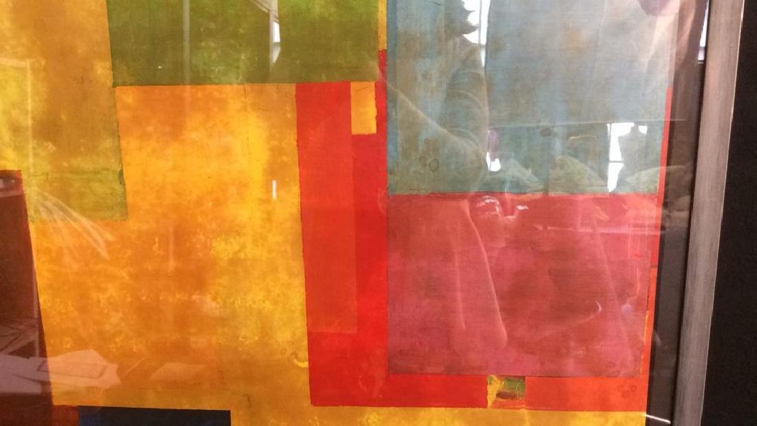 Hans Hofman Framed Geometric Print - 3