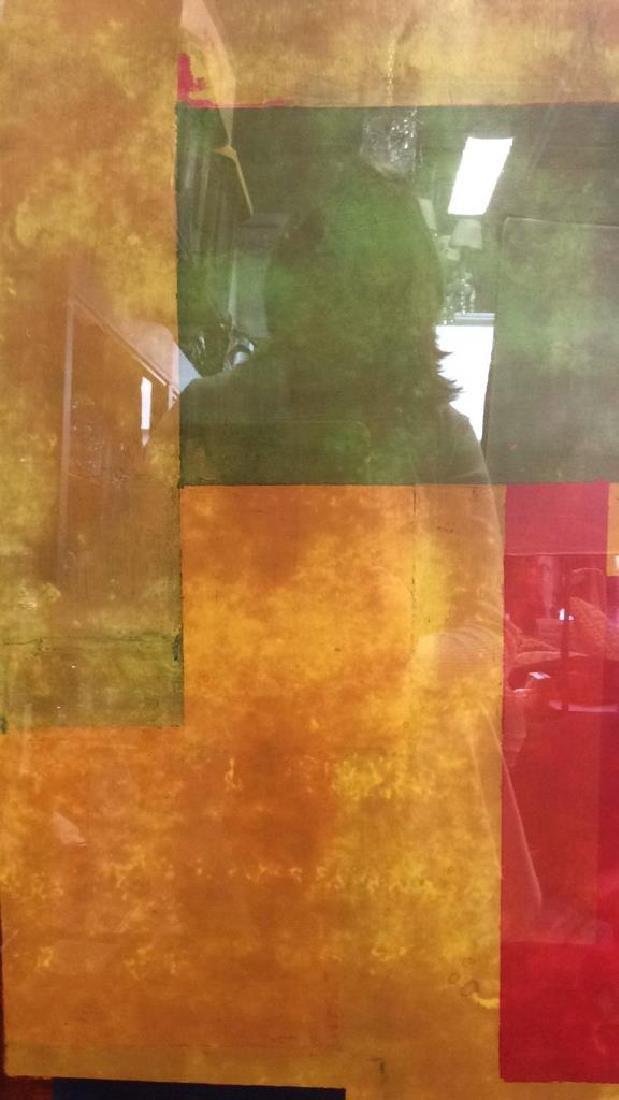 Hans Hofman Framed Geometric Print - 4