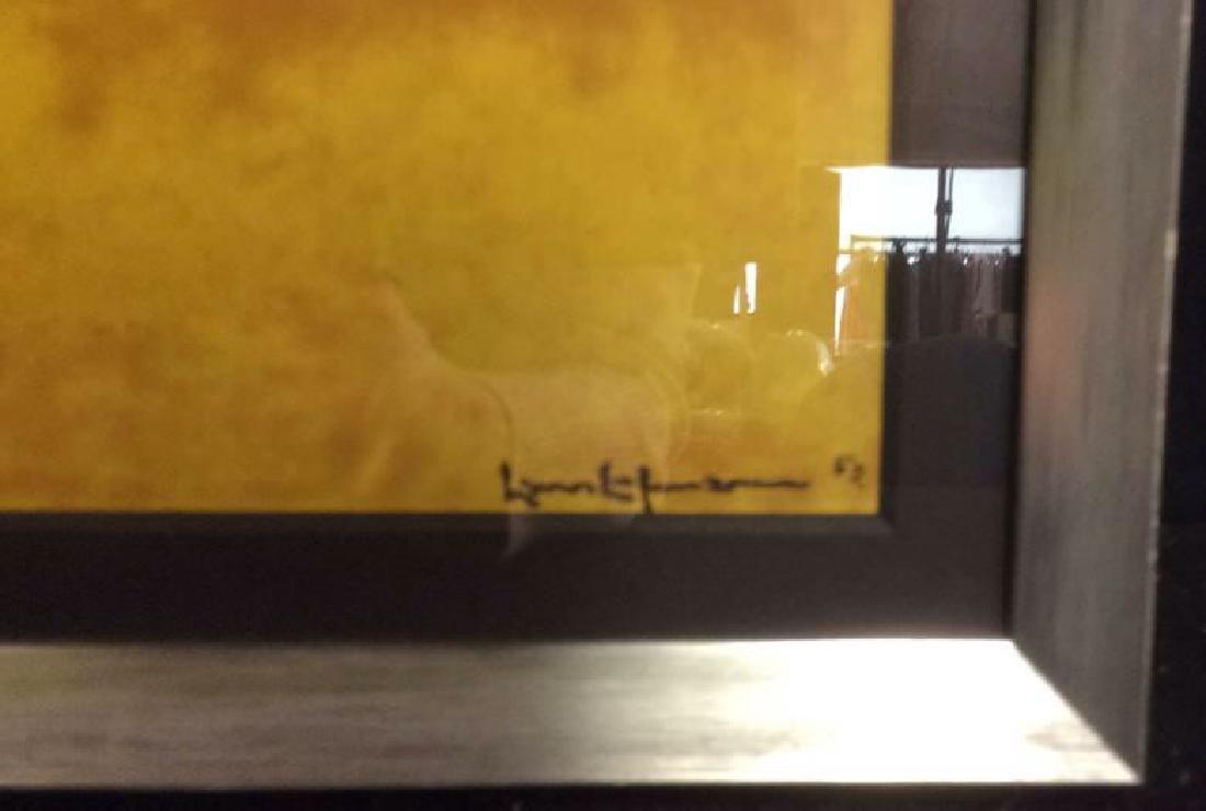 Hans Hofman Framed Geometric Print - 5