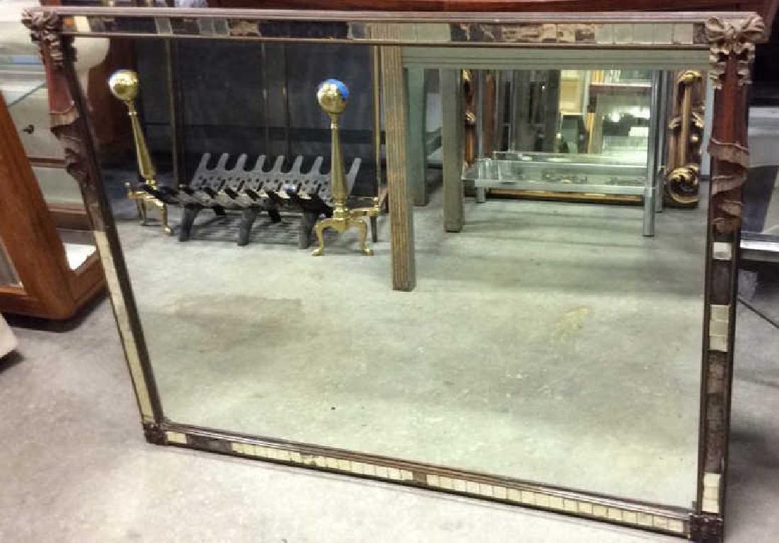 Antique Wood Mirror Mosaic Mirror