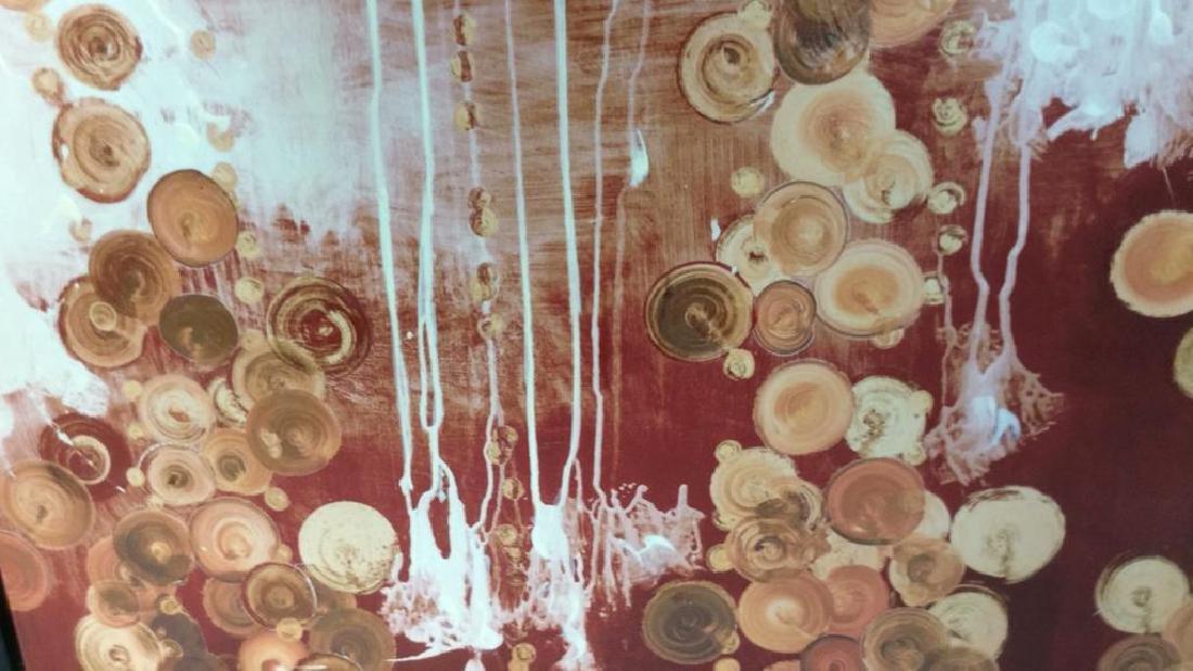 Contemporary Textured Canvas Print Artwork - 4