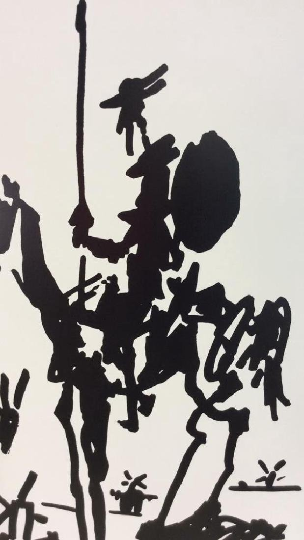 Framed Picasso Don Quixote Print - 4
