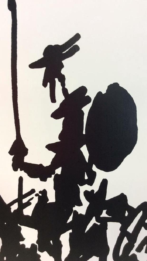 Framed Picasso Don Quixote Print - 5