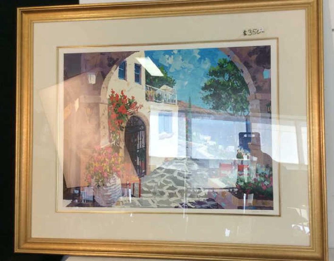 Barbara McCann Seaside Painting