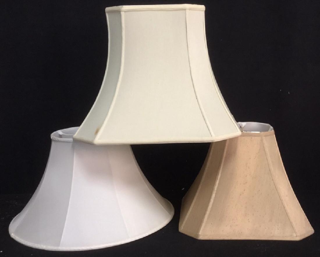Group Lot 3 Lamp Shades