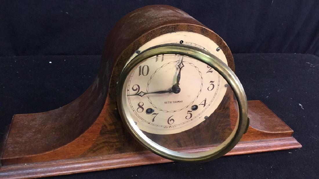 Vintage Seth Thomas Mantel Clock - 2