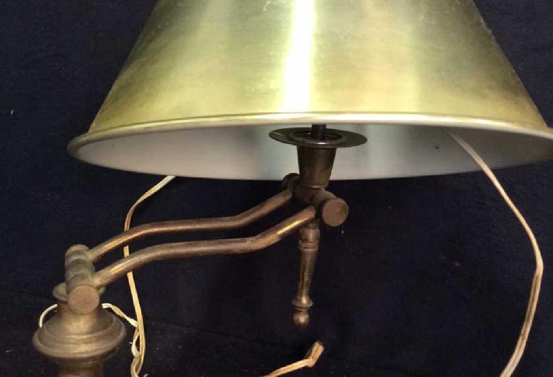 2 Brass Chrome Vintage lamps - 2