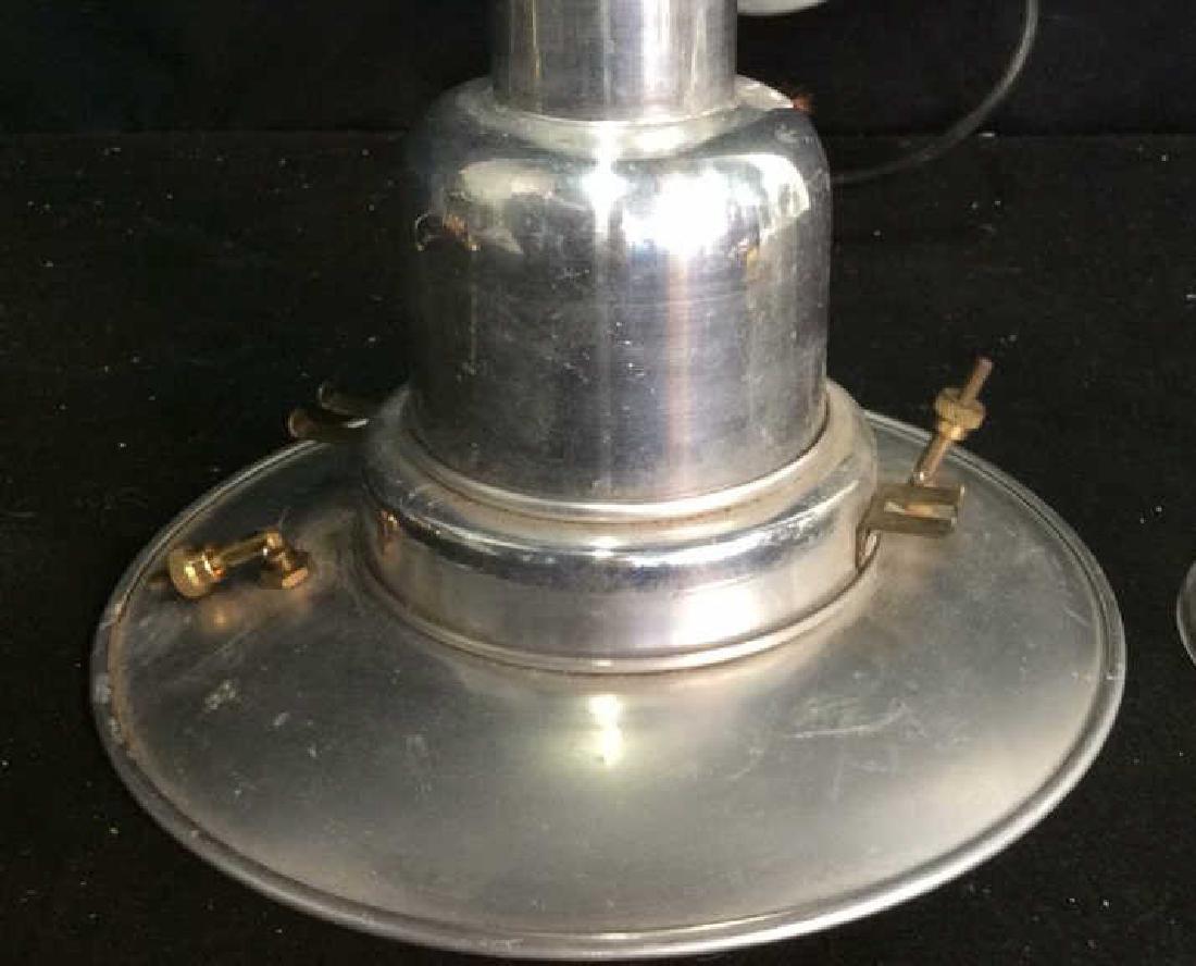 2 Brass Chrome Vintage lamps - 6