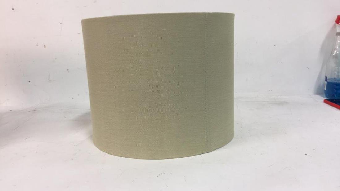 Group Lot Lamp Shades in Brown Tones - 6