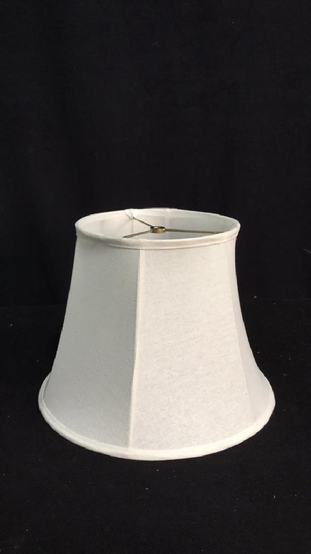 Group Lot 2 Lamp Shades White - 8