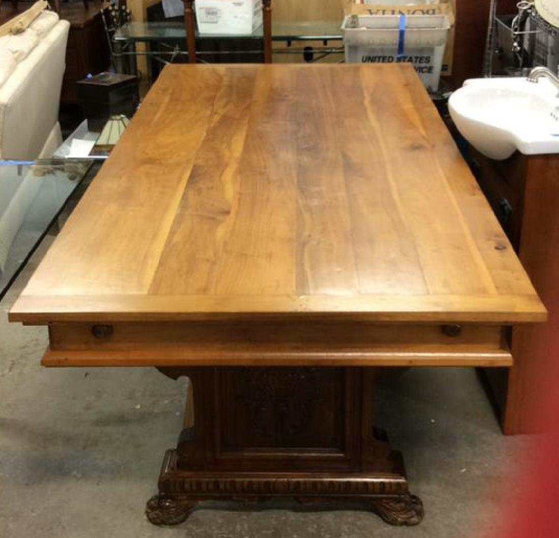 Vintage / Antique Trestle Refectory Table Dining table