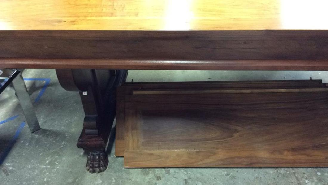 Vintage / Antique Trestle Refectory Table Dining table - 7