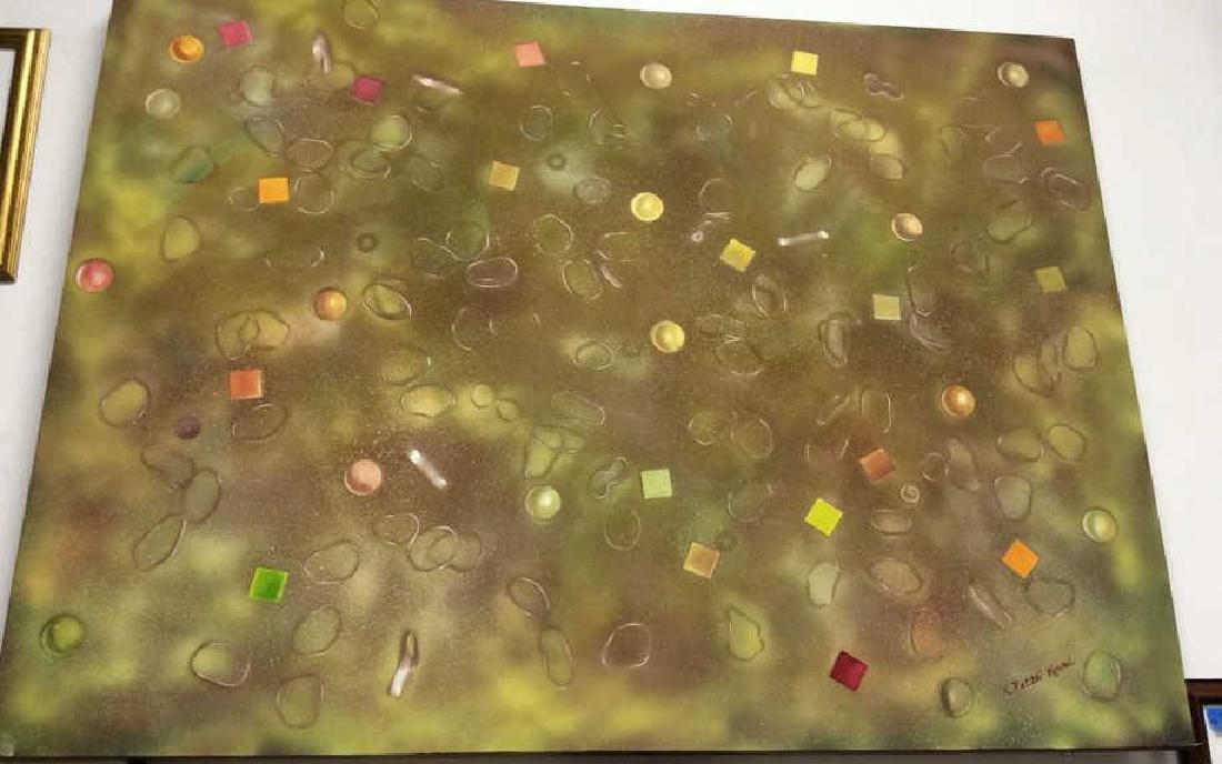 Petitti, Contemporary Abstract Mixed Media Canvas - 3