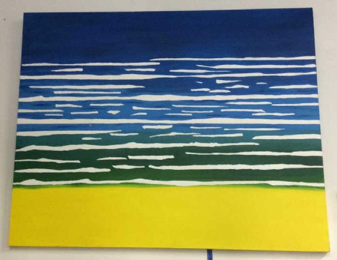 Petitti, Contemporary Abstract Acrylic on Canvas