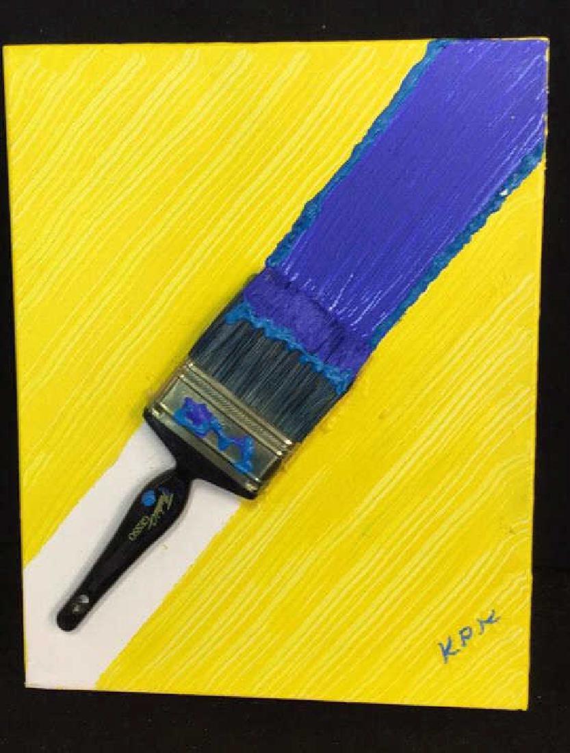 Petitti 4 Contemporary Mixed Media On Canvas Mixed - 2
