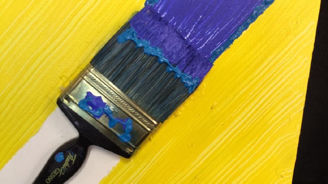 Petitti 4 Contemporary Mixed Media On Canvas Mixed - 3