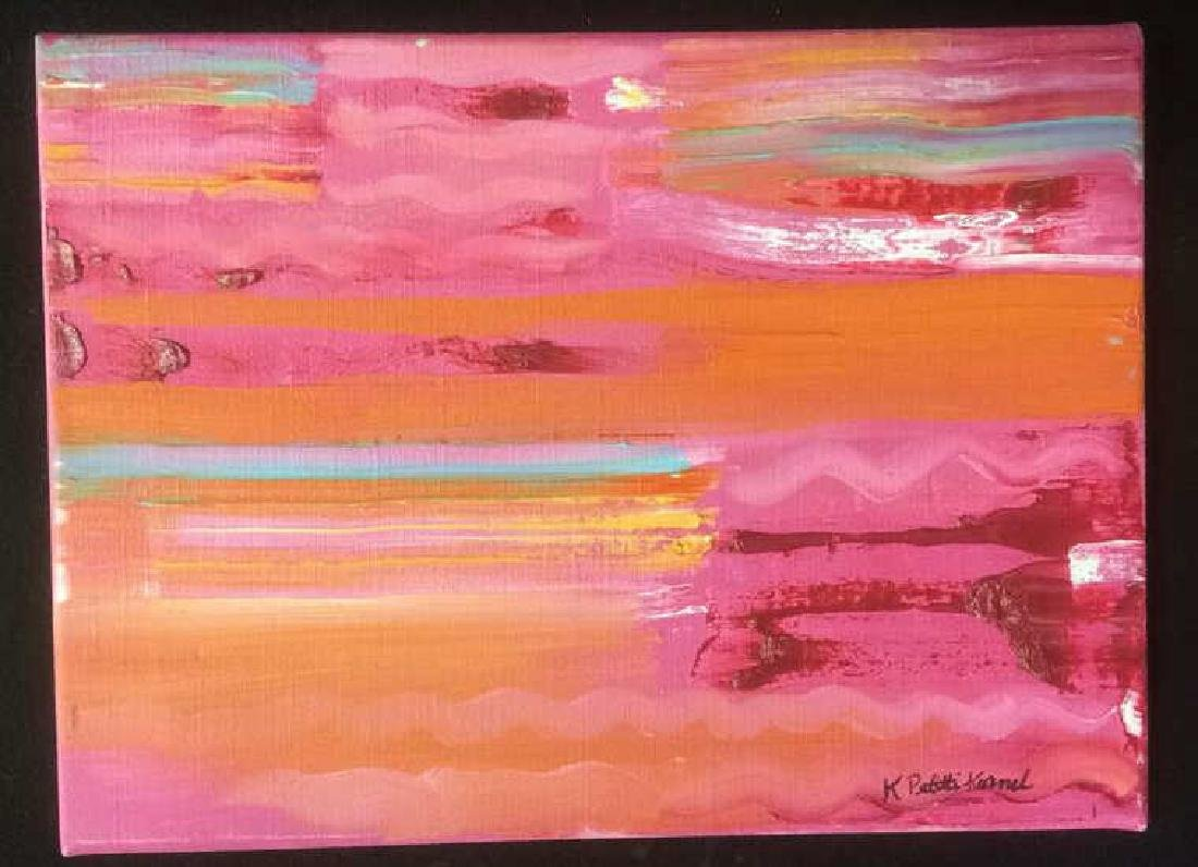 Petitti, Contemporary Abstract Oil on Canvas Abstract