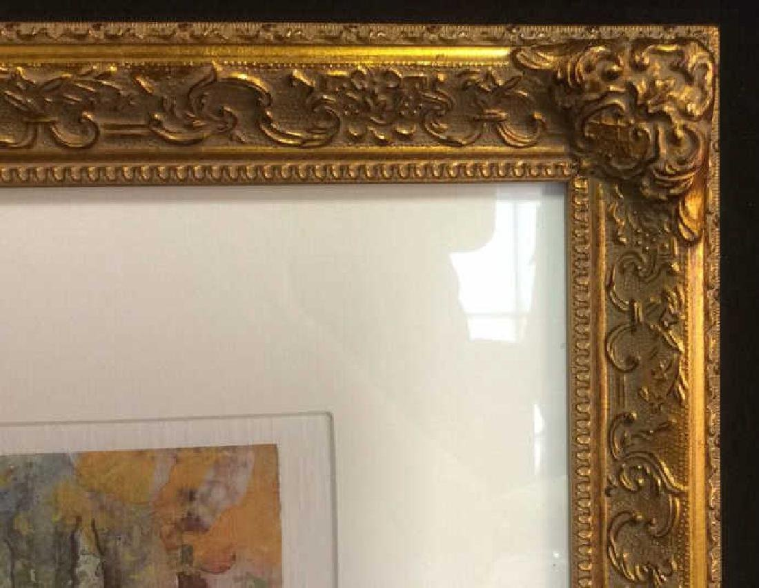 Philip, Watercolor Floralscape Signed Framed Signed - 4
