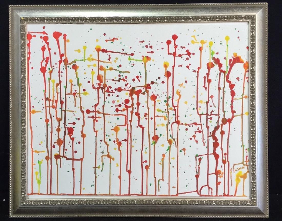 Petitti Original Watercolor On Paper Original