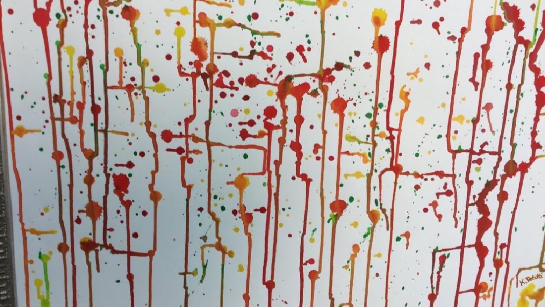 Petitti Original Watercolor On Paper Original - 2