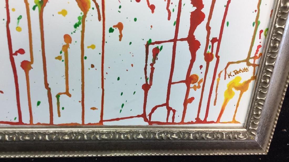 Petitti Original Watercolor On Paper Original - 3