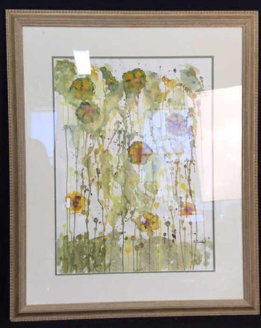 Petitti Original Framed Watercolor Original watercolor