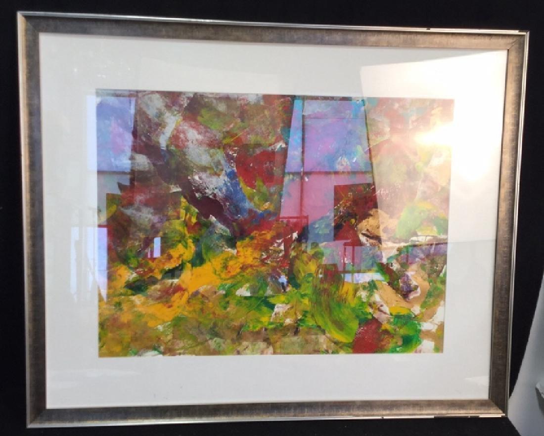 Petitti Original Framed Oil Painting Original oil