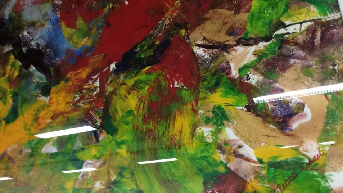 Petitti Original Framed Oil Painting Original oil - 9