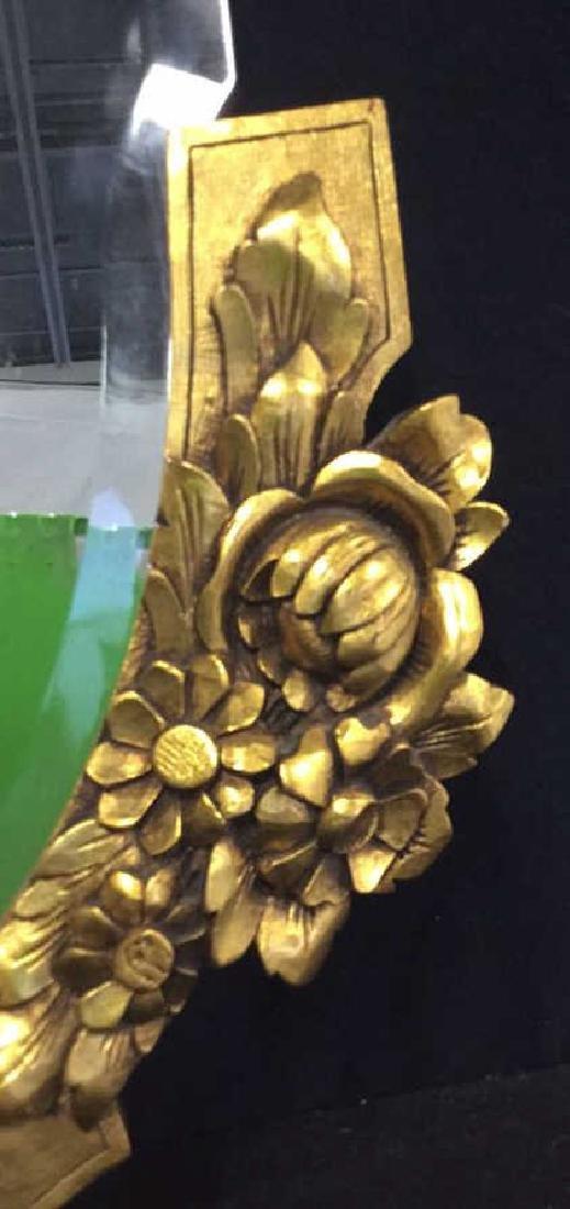 Art Deco styled Carved Gold Leaf Mirror 22 carat gold - 9