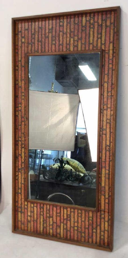 Vintage Mod Handmade Wall Mirror Unusual handmade