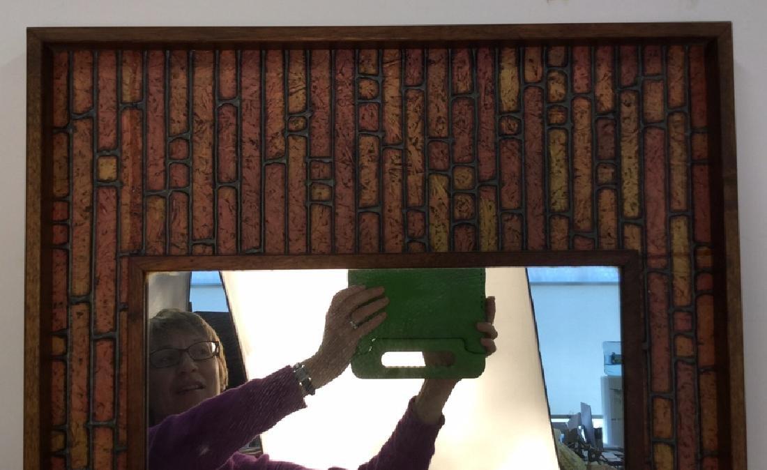 Vintage Mod Handmade Wall Mirror Unusual handmade - 3