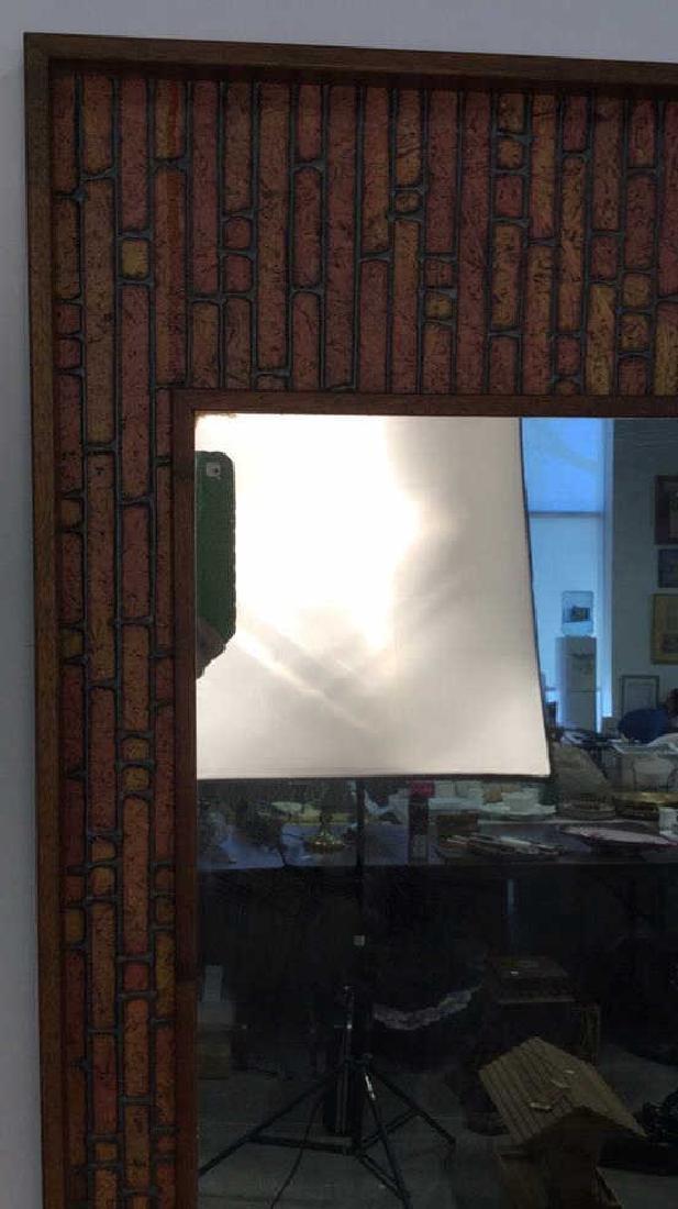 Vintage Mod Handmade Wall Mirror Unusual handmade - 4