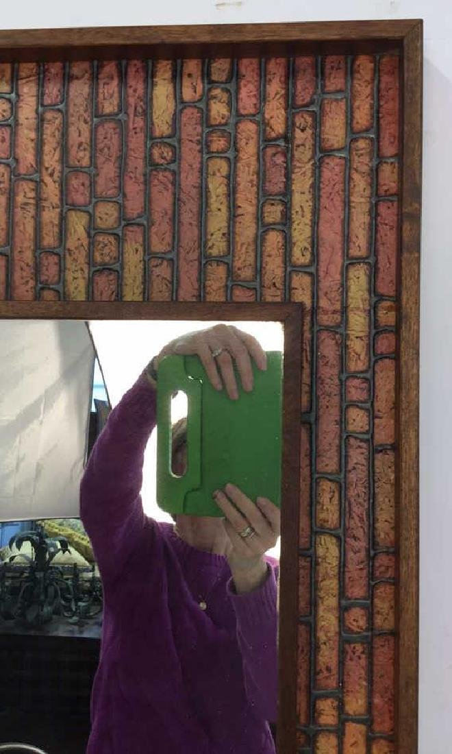 Vintage Mod Handmade Wall Mirror Unusual handmade - 6