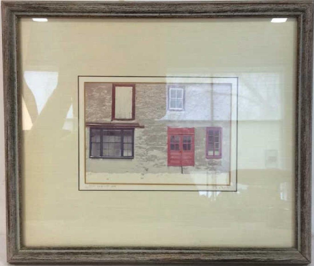 Rosen, signed Framed Artwork Professionally framed and - 2