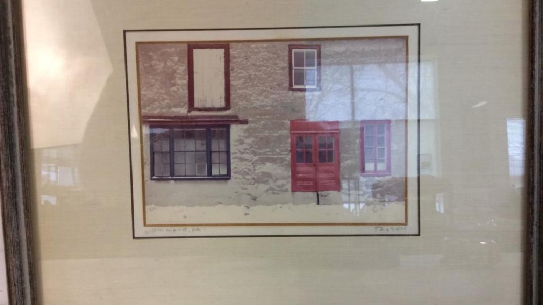 Rosen, signed Framed Artwork Professionally framed and - 3