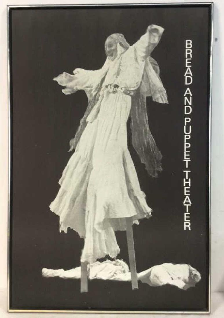 Vintage Black and White Theater Poster Silver leafed - 2
