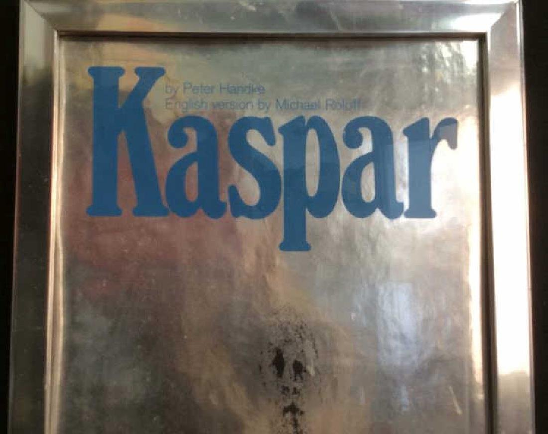 Vintage Framed Theater Poster Kasper Professionally - 4