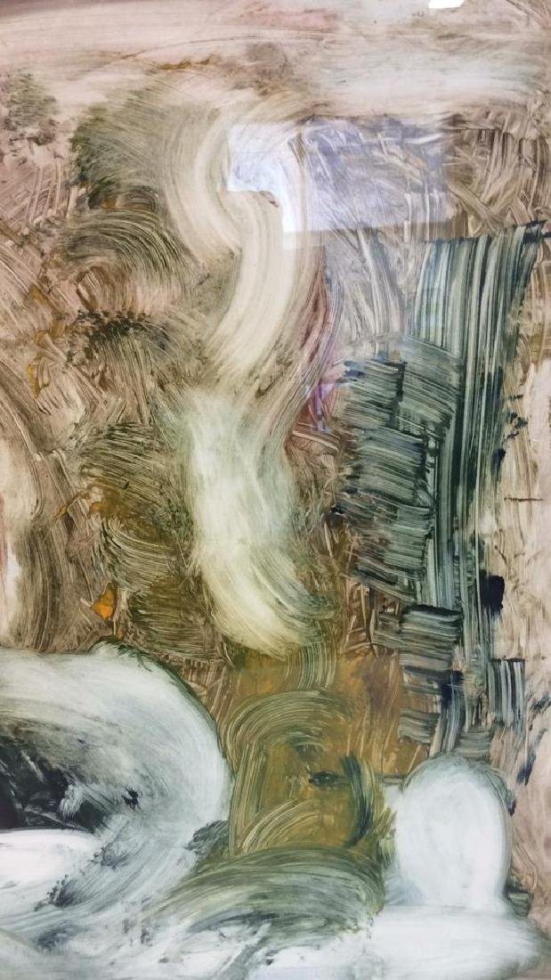 Pete Biester Monoprint Abstract Artwork Labeled for - 7