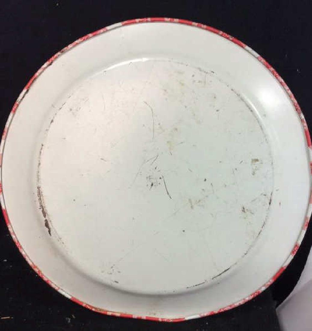 Vintage Checkered Tole Tray Vintage Kitchen Tray - 5
