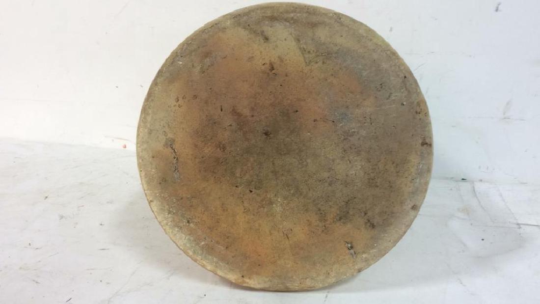 Vintage 2 Gallon Salt Glazed Ironstone Jug Marked with - 7
