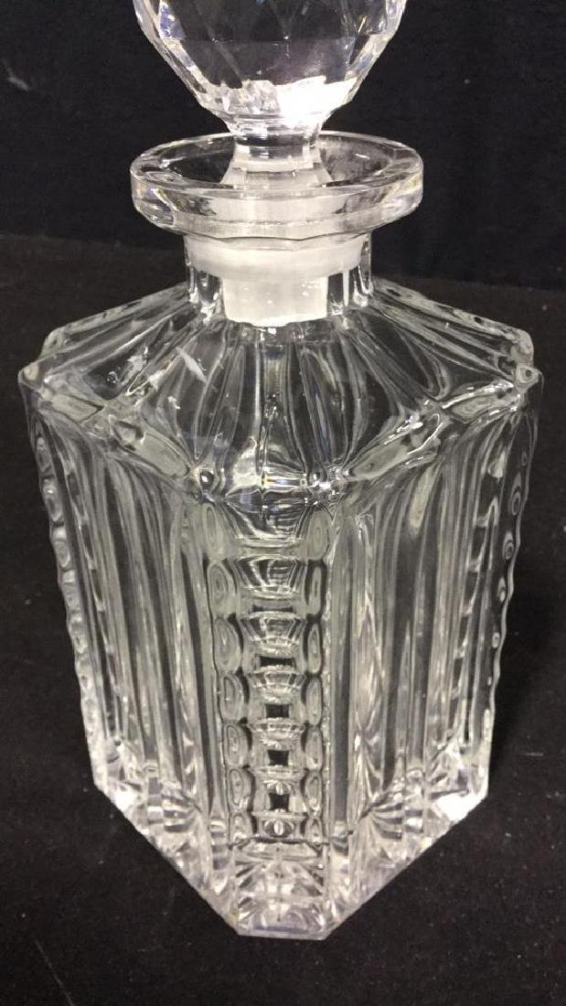 Cut Crystal  Decanter W Stopper - 6