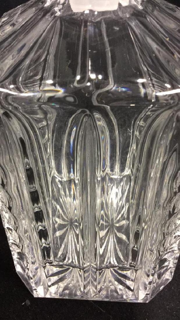 Cut Crystal  Decanter W Stopper - 7