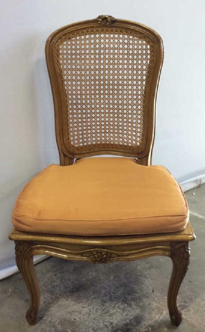 Louis XVI Style Country French Side Chair - 3