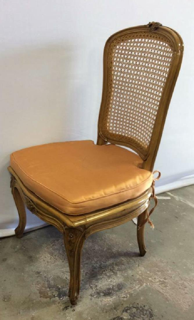 Louis XVI Style Country French Side Chair - 5