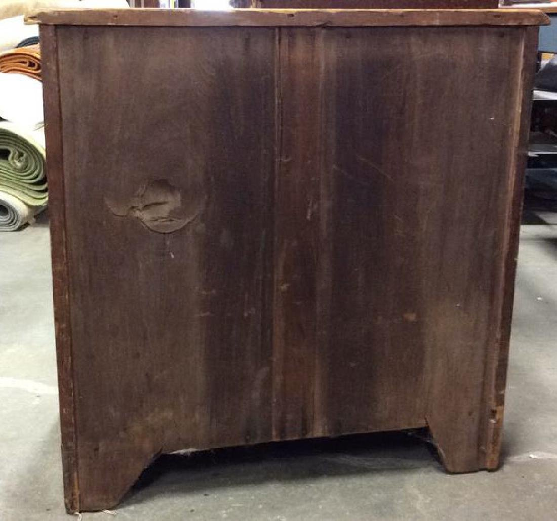 Antique Pine Wood Dresser Commode - 8