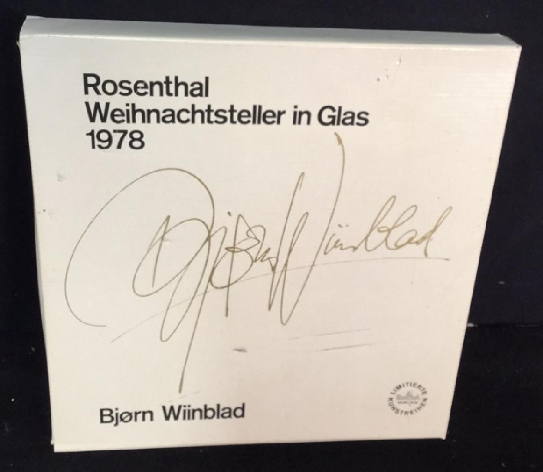 Bjorn Wiinblad Rosenthal  Christmas Plate - 10