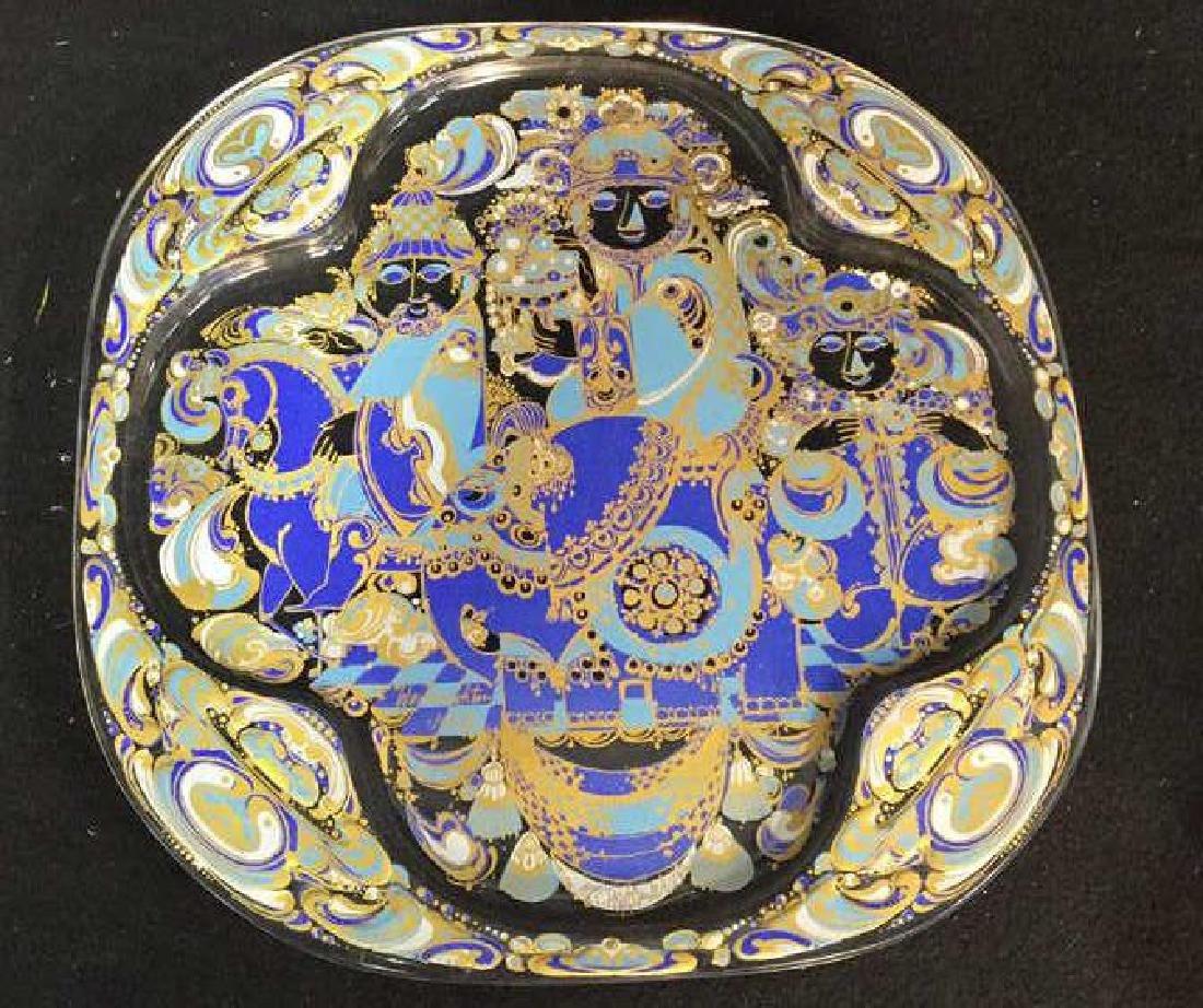 Bjorn Wiinblad Rosenthal  Christmas Plate