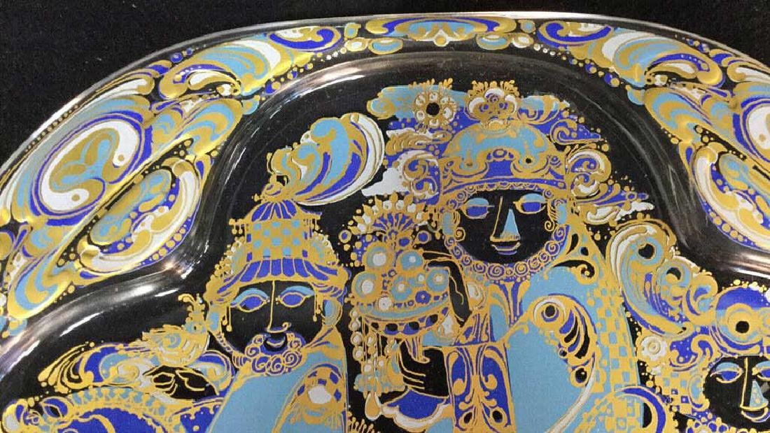 Bjorn Wiinblad Rosenthal  Christmas Plate - 4